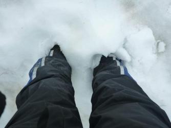 I found snow