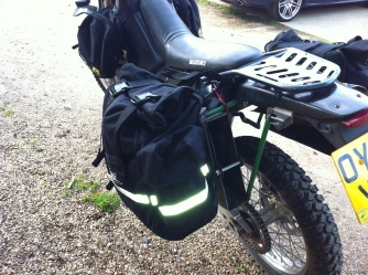 DRZ with Magadan Bags